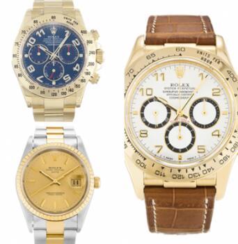 De drie materialen van Rolex vertellen u waarom het de beste replica-horloges zijn