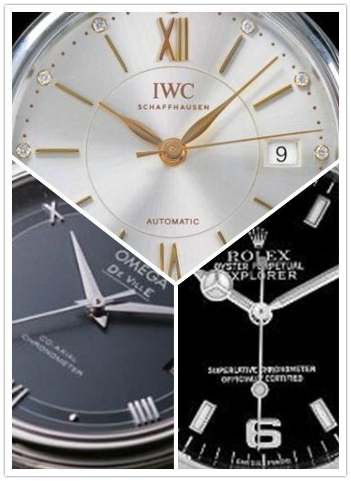 Drie replica horloges voor heren met kleine diameter aanbevolen